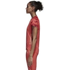 adidas AdiZero T-shirt course à pied Femme, trasca/cburgu